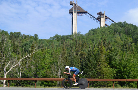 Ironman Lake Placid IMLP bike course preview deboer wetsuits Matt Russell