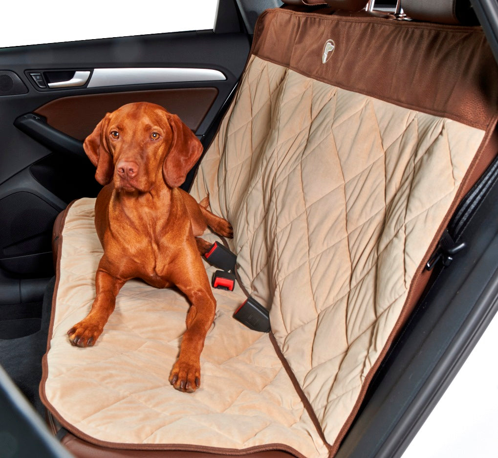 Cross Country Quilted Back-Seat Protector