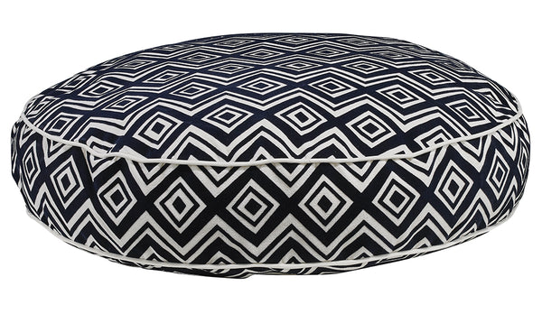 Azure MicroVelvet Super Soft Dog Bed