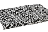 Courtyard Grey Tufted Crate Mat