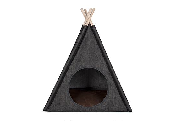 Classic Rebel Denim Dog Teepee