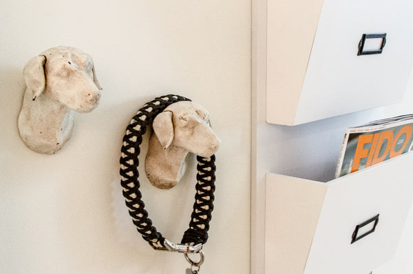 Dog Head Leash Hooks