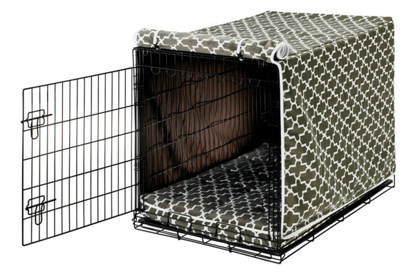 Graphite Lattice Crate Cover