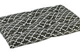 Graphite Lattice Tufted Crate Mat