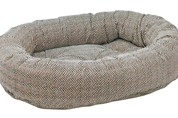 Herringbone Donut Bed