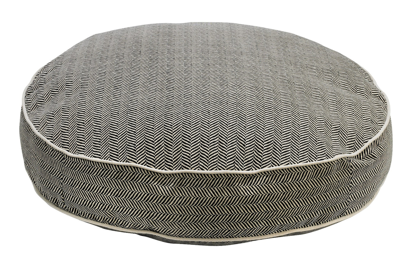 Herringbone  MicroVelvet Super Soft Dog Bed