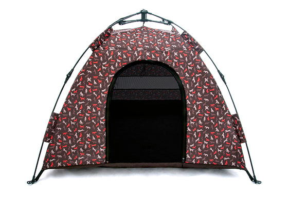 Mocha Outdoor Dog Tent