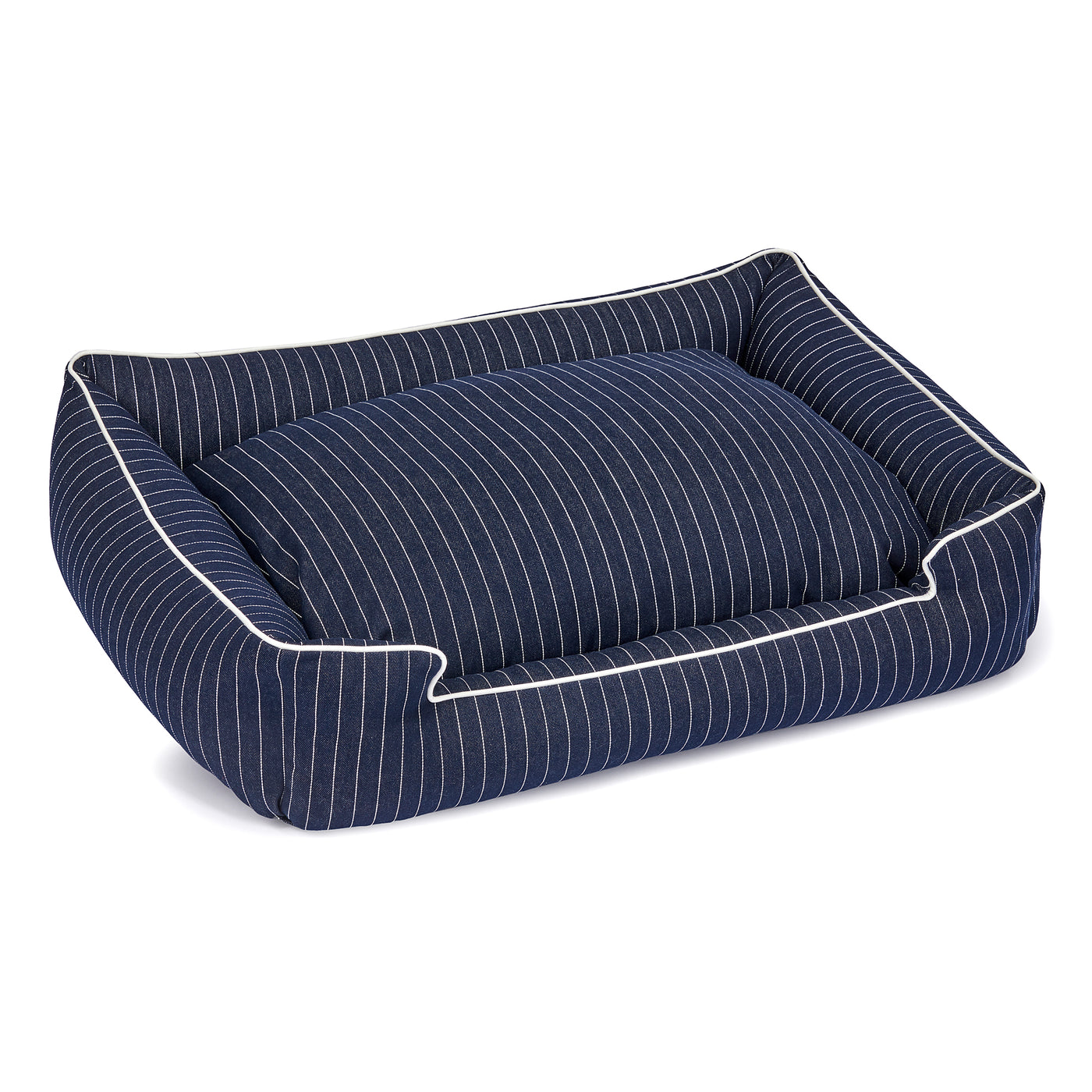 Jean Stripe Ink Lounge Bed