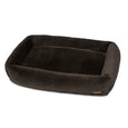 Memory Foam Mink Black Cuddler Bed
