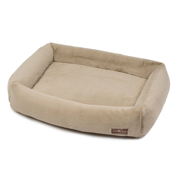 Memory Foam Creme Cuddler Bed