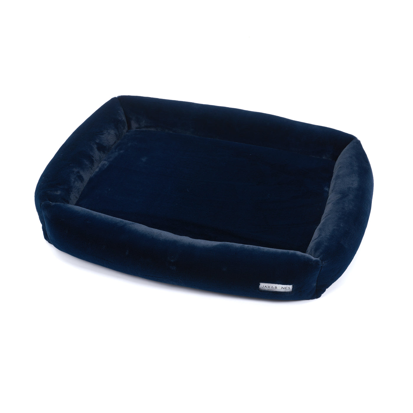 Memory Foam Mink Navy Cuddler Bed