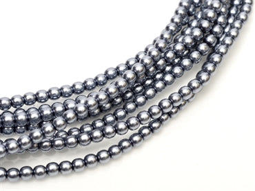 3mm Pearls - Grey - Beading Amazing