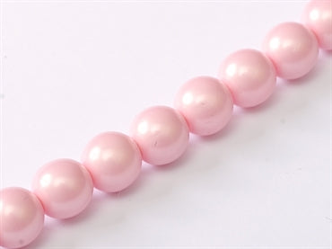 3mm Pearls - Pink Satin - Beading Amazing