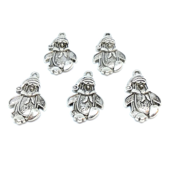 Penguin Charms (5 pack) - Beading Amazing