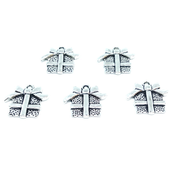 Present Charms (5 pack) - Beading Amazing