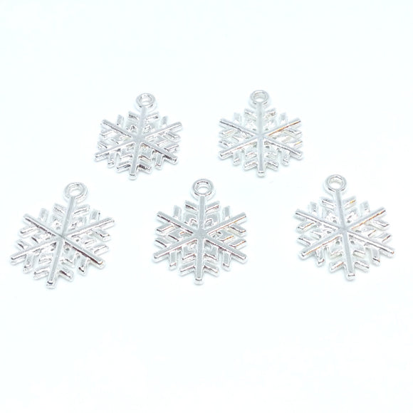 Snowflake Charms (5 pack)