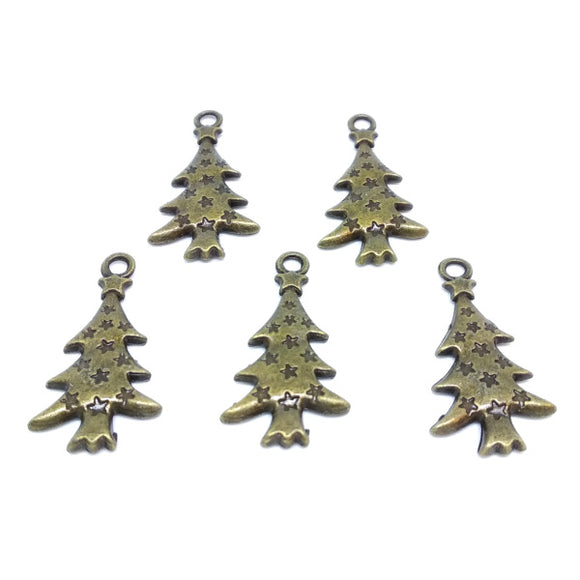 Tree Charms (5 pack) - Beading Amazing
