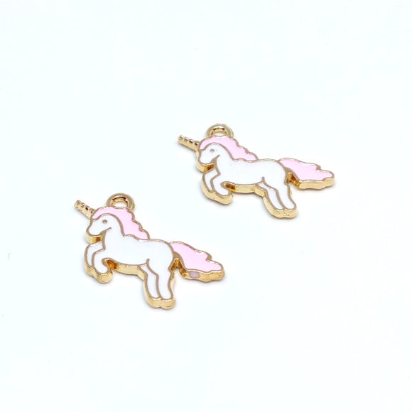 Unicorn Charm (2 pack) - Beading Amazing