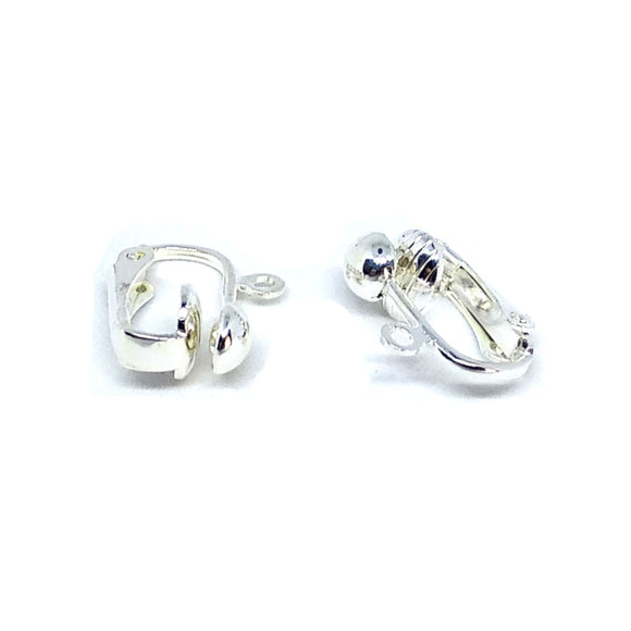 Silver Clip On Earrings - Beading Amazing