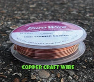 0.8mm Copper Eurowire - Beading Amazing