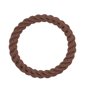 Copper - 9mm Closed Twisted Rings - Beading Amazing