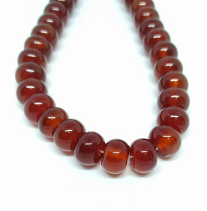 Gemstone - Carnelian - 12mm Buttons - Beading Amazing
