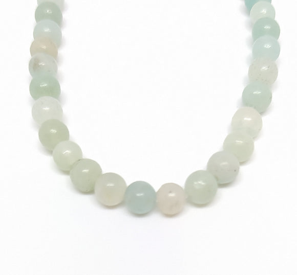 Gemstone - Amazonite (Mint -Tone) - 4mm Rounds - Beading Amazing