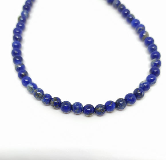 Gemstone - Lapis - 4mm Rounds - Beading Amazing