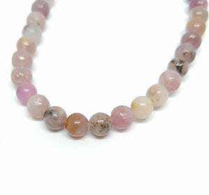 Gemstone - Lepidolite - 6mm Rounds - Beading Amazing