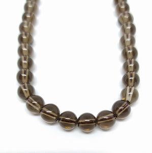 Gemstone - Smoky Quartz- 6mm Rounds - Beading Amazing