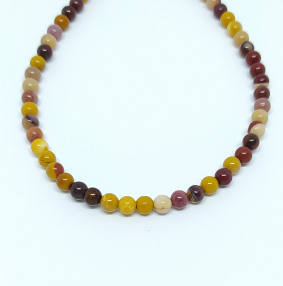 Gemstone - Mookaite - 6mm Rounds - Beading Amazing