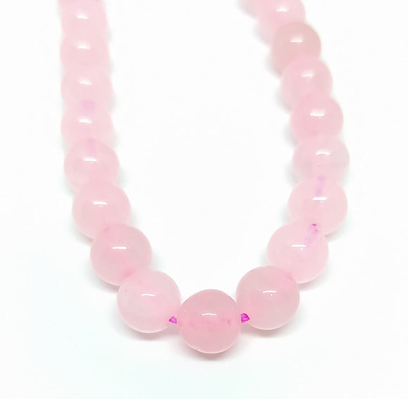 Gemstone - Rose Quartz - 8mm Rounds - Beading Amazing