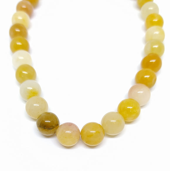 Gemstone - Yellow Aventurine - 8mm Rounds - Beading Amazing