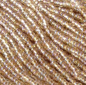 Bronze Lined Crystal (11/0) - Beading Amazing