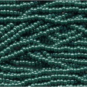 Dk Green Opaque Lustre (H8) - Beading Amazing