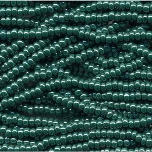 Dk. Green Opaque Lustre (H11) - Beading Amazing