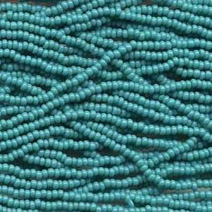 Opaque Green Turquoise (H11) - Beading Amazing