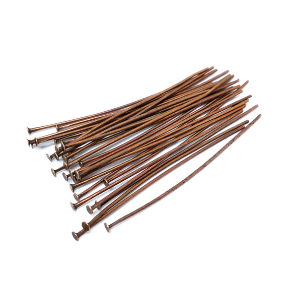 Copper Headpins - Beading Amazing