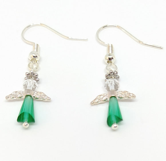 Angel Earring Kit - Green