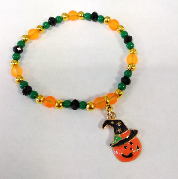 Project Pack - Elasticated Pumpkin Bracelet