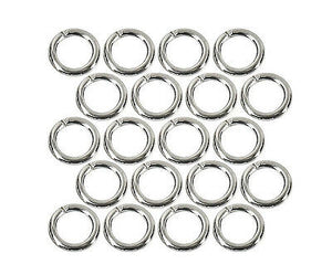 4mm Jump Rings Antique Silver - Beading Amazing