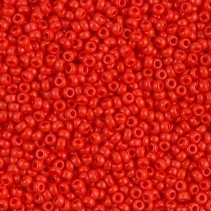 Matte Opaque Red Vermillion (M8) - Beading Amazing
