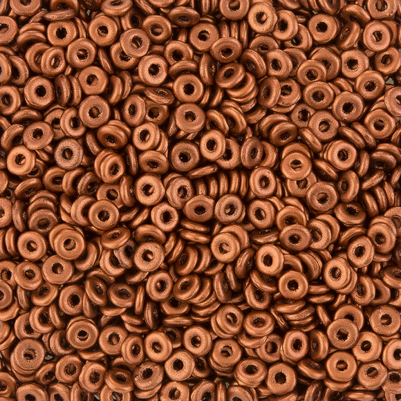 Copper O Beads - Beading Amazing