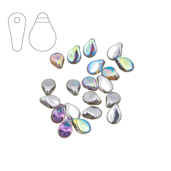 Silver Rainbow Pips