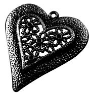 Pretty Heart Pendant - Beading Amazing