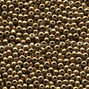 Pale Bronze Gold (6/0) - Beading Amazing