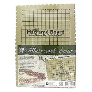Small Macrame Board - Beading Amazing