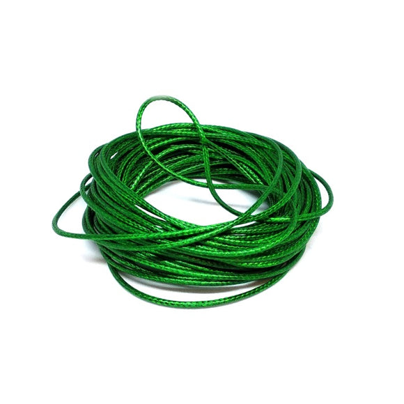 Waxed Cord Green - Beading Amazing