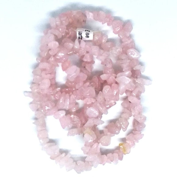 Gem Chips- Rose Quartz - Beading Amazing