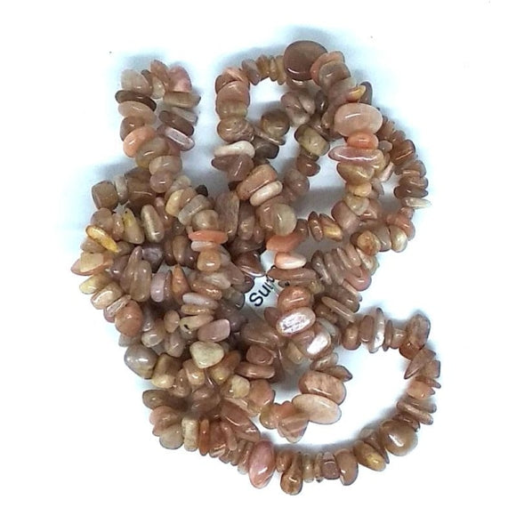 Gem Chips - Sunstone - Beading Amazing